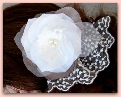 Vintage Flower Hair Clips