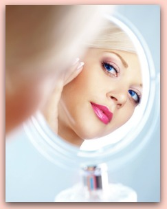Wall Mount Makeup Mirror